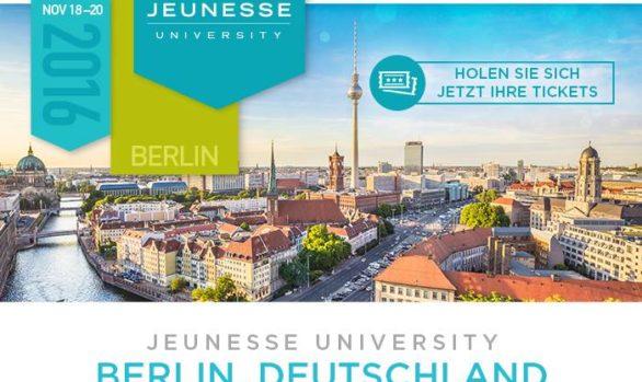 Jeunesse University, 18/20 Novembre 2016, Berlino